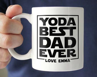 Personalized Fathers Day Gift For Dad From Daughter Son Mug Father Funny Birthday