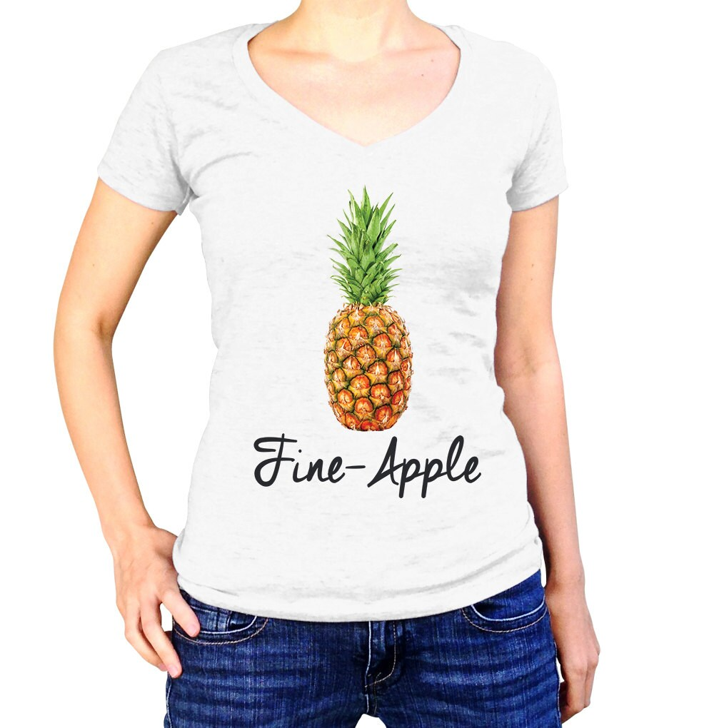 4f0d118f721f Pineapple Shirt - Funny T Shirt - Pineapple Gifts - Fine Apple - Pineapple  Tshirt - Pineapple Tee - Summer Shirt - Fruit Shirt - Food Puns