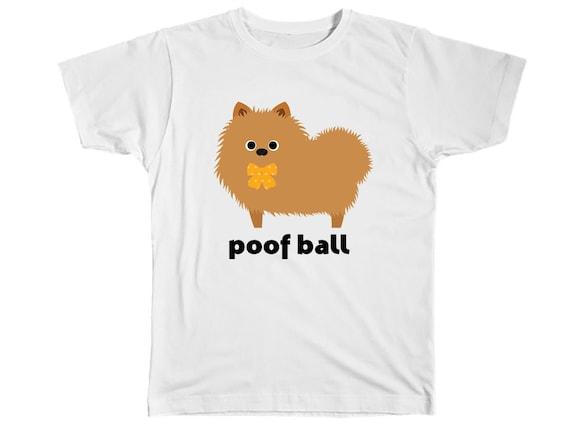 9bdb57d12 Kids Pomeranian Shirt Pomeranian T Shirt Pomeranian Tee | Etsy