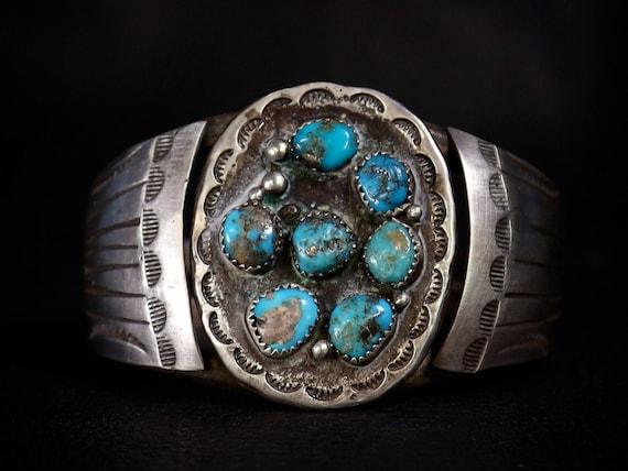 Old Pawn Navajo Turquoise Bracelet