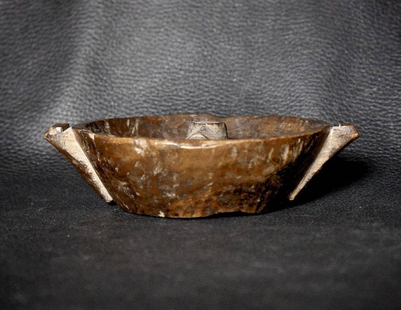Maize Beer Antique Carved Wood Quechua Quero Chicha Bowl