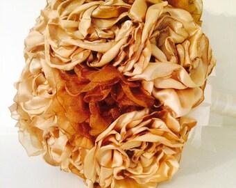 Golden Bridal Bouquet