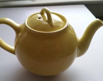 Hall Lipton Teapot- Yellow Teapot