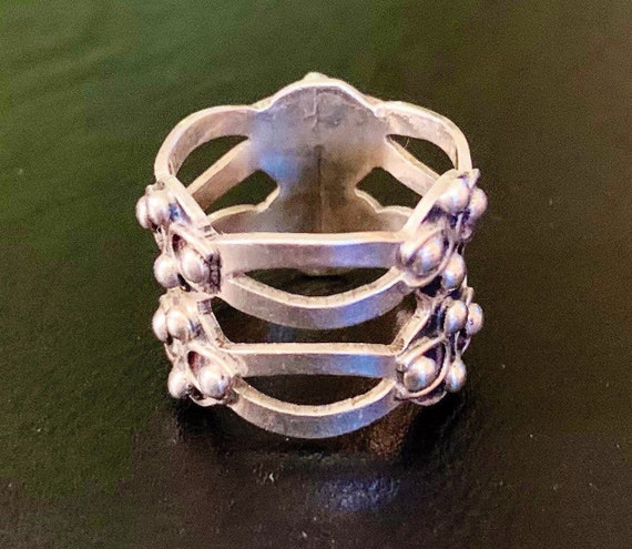 Vintage Mexican 925 Sterling Silver Ring
