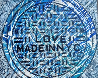 love blue -Coaster / Print