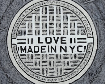 love nyc #-Coaster / Print