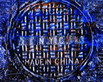 ny china india-Coaster / Print