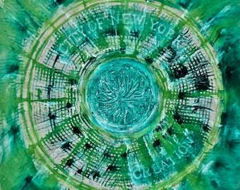 green life-Coaster / Print