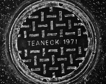 Teaneck 71' Coaster / Print (black )