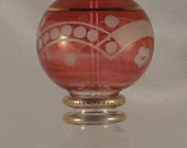 Egyptian Perfume Bottle - Mouth Hand Blown - Weddings Favors Gifts - (EPB-9-012)