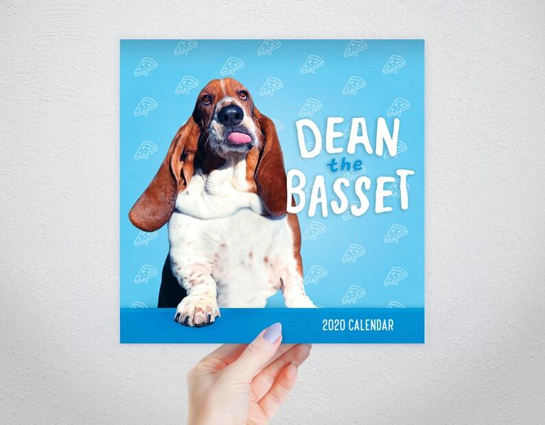 PRE-SALE dean the basset 2020 calendar image 0