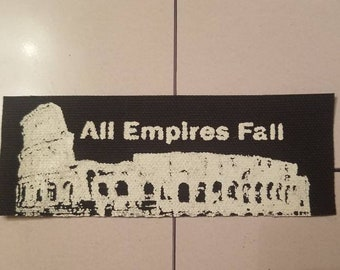 EMPIRES FALL - Punk / Anarchy Patch - Historical Reminder