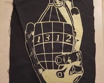 1312 Grenade Back Patch