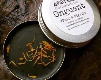 Herbal oitment eczema psoriasis - Botanical balm skin problems