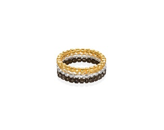 pebbles stacking ring