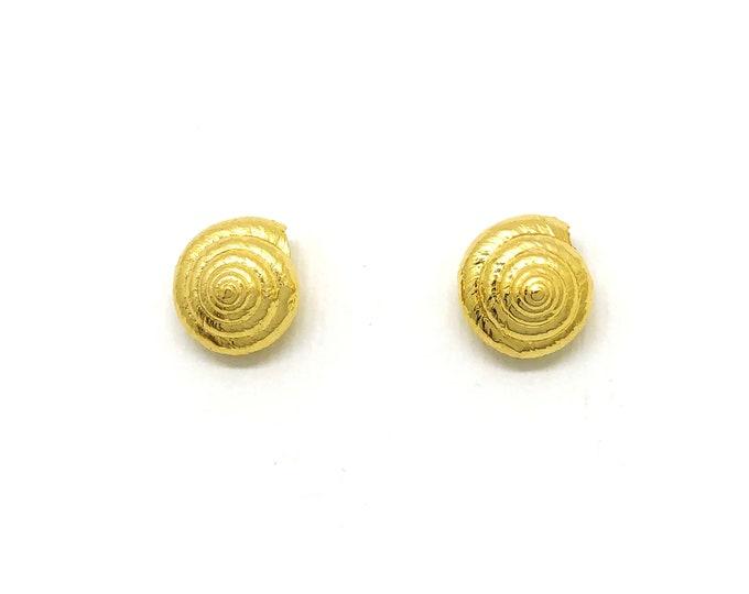 sea shell spire earrings