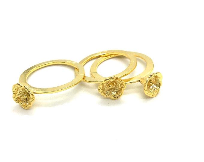 Bell flower ring