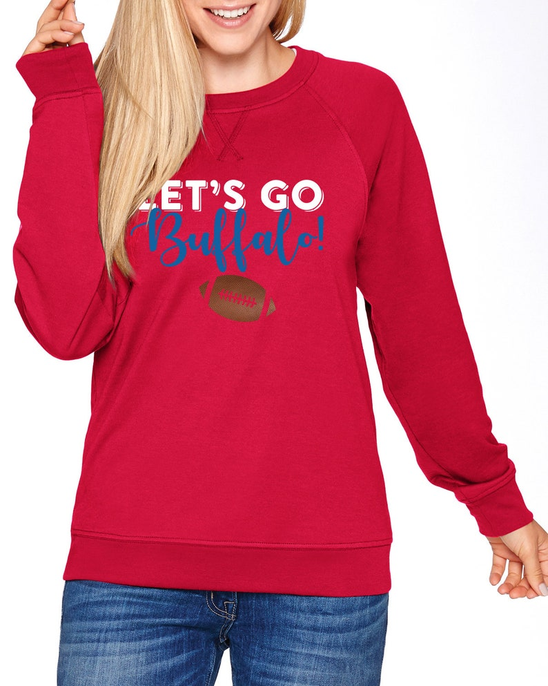 bb12dcfc Buffalo Bills crewneck sweatshirt | Buffalo NY WNY football shirt couples  Sweatshirt Pullover | Gift for Women | Couples shirts clothing