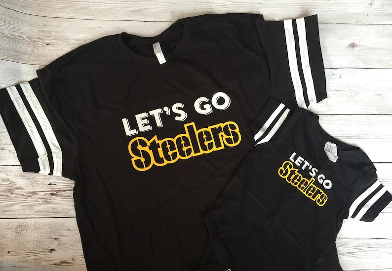 the latest 45297 9794e Pittsburgh Steelers Shirt | Steelers Family Shirts | mommy and me outfit |  Steelers mommy and me shirts | Steelers gift | Family Shirt Set