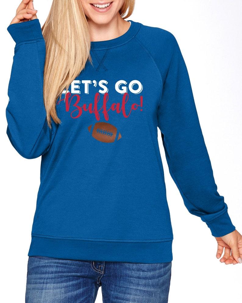 Buffalo Bills crewneck sweatshirt Buffalo NY WNY football  a532182df