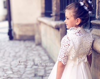 4943f5f8e beautiful tulle first holy communion dress i off white colour with lace, tutu  flower girl dress