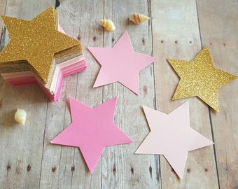 large gold stars etsy