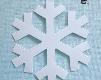 Snowflake Die Cuts E Large CutoutsPaper SnowflakeWinter WonderlandFrozen Party DecorWinter DecorationsWinter Wedding