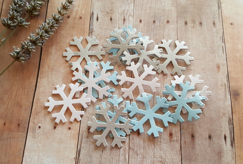 Snowflake Confetti,PICK COLORS,Metallic snowflake,Snowflake die cuts,Winter  wedding decor,Snowflake table scatter,Winter Wonderland decor
