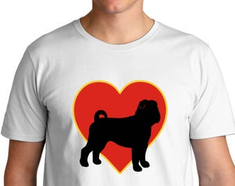 Chinese Shar Pei Heart Love T-Shirt