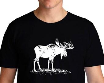 Moose Sketch T-Shirt 4d3d70898