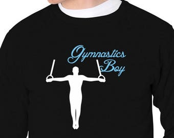 Gymnastics Boy Sweatshirt