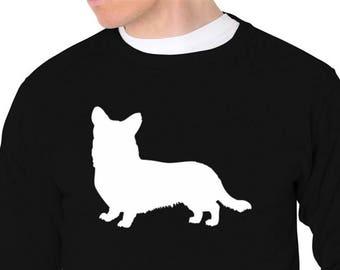 Cardigan Welsh Corgi Silhouette Sweatshirt