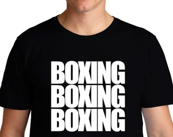 Boxing Three Words T-Shirt