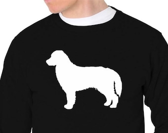 Bernese Mountain Dog Silhouette Sweatshirt