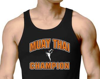 Muay Thai Champion Tank Top
