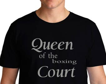 Queen Of The Boxing Court T-Shirt