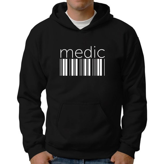 Teeburon Medic Hashtag Hoodie