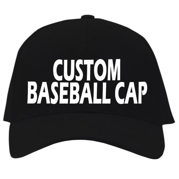 Add a text on your custom-made Baseball Cap Create your  c0907a335baa