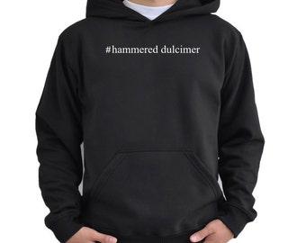 Hammered Dulcimer Hashtag Hoodie P375ytft