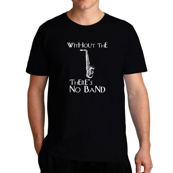I Don/'t Know Anything I/'m Just The Baritone Saxophone Logo Mens Tee Shirt Pick