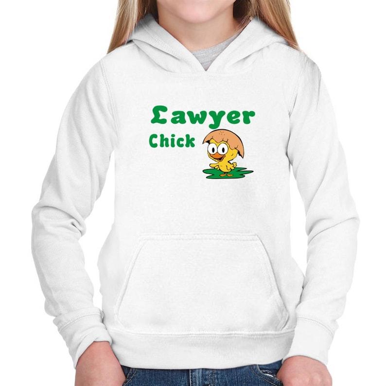 Lawyer Chick Children Hoodie