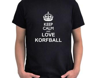 Keep calm and love Korfball T-Shirt