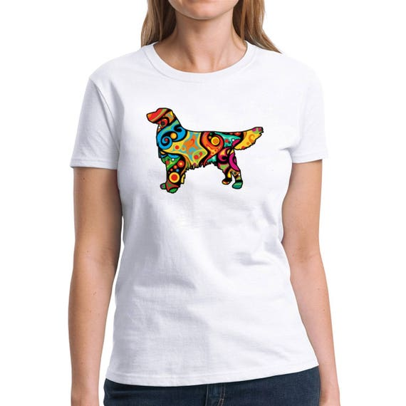 Hauts Eddany Psychedelic Boston Terrier Polo