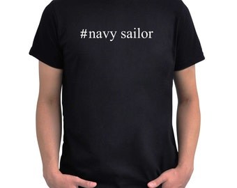 Hashtag Navy Sailor  T-Shirt