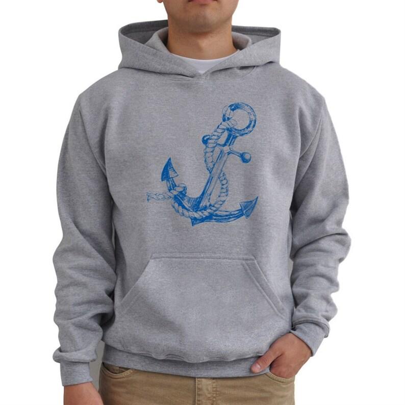 Anchor cute bump Hoodie