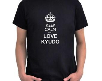 Keep calm and love Kyudo T-Shirt
