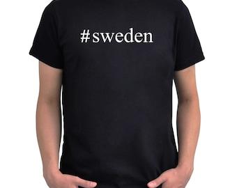 Hashtag Sweden  T-Shirt