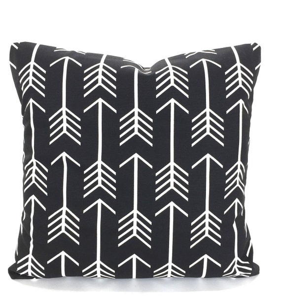 Terrific Black White Throw Pillow Covers Cushions Couch Pillows Decorative Pillow Arrow Couch Bed Euro Sham Throw One Or More All Sizes Cjindustries Chair Design For Home Cjindustriesco