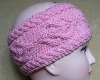 Knitted ear warmer Womens headwraps headband adult hair band Knit hair wrap Gift for her Womens headband Knitted accessories