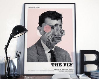 The Fly Art Print - Alternative poster for David Cronenberg's The Fly